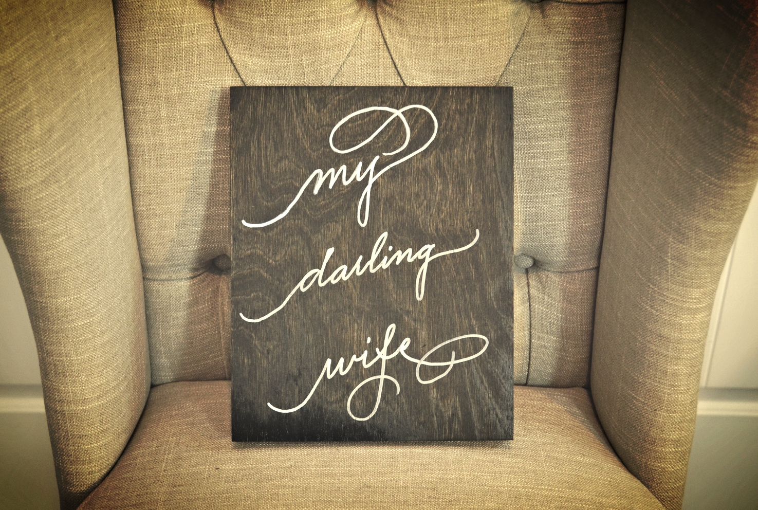 Houston Calligraphy Wedding Sign.JPG