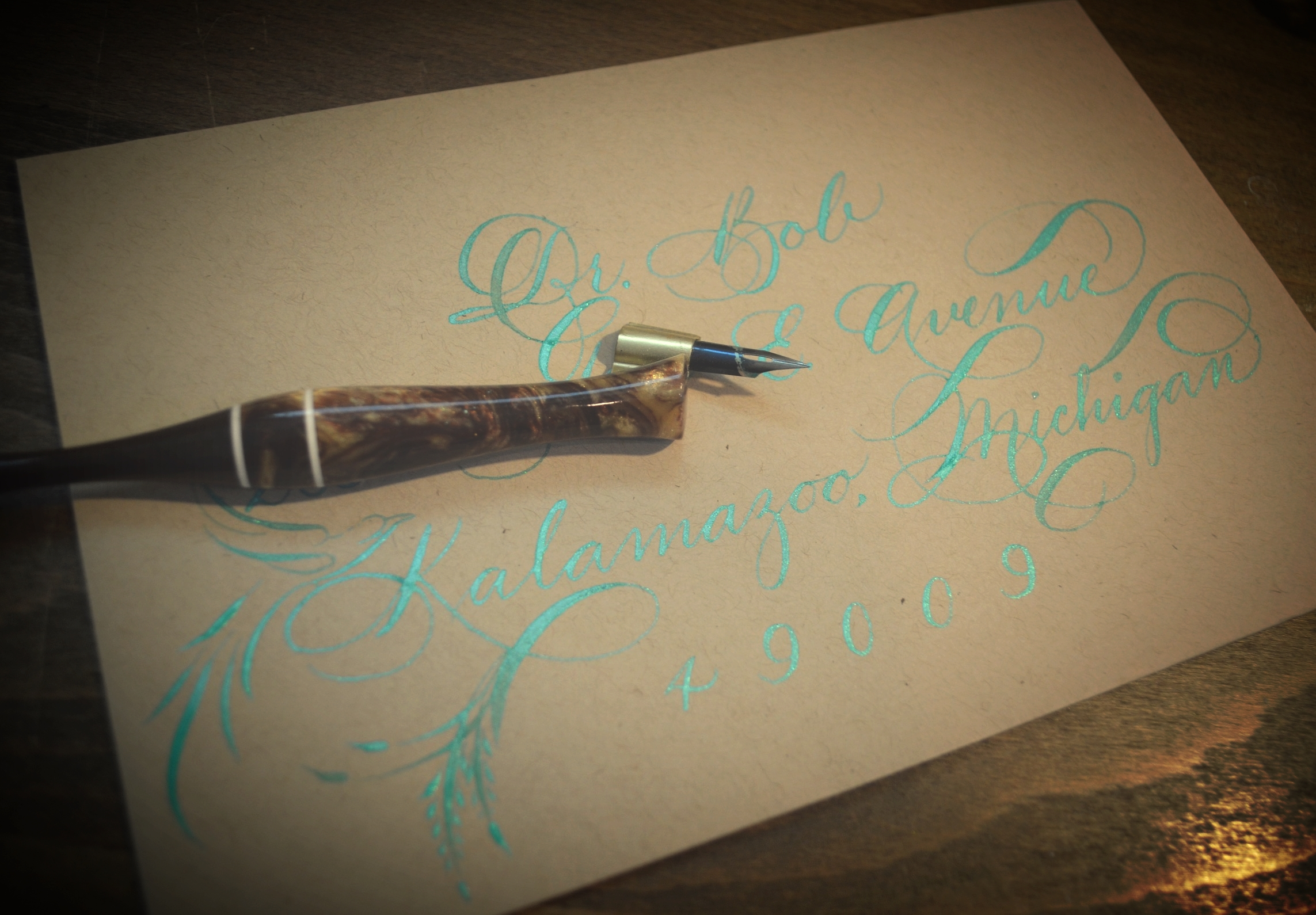 Houston Calligraphy Calligrapher25 Aug 2015.jpg