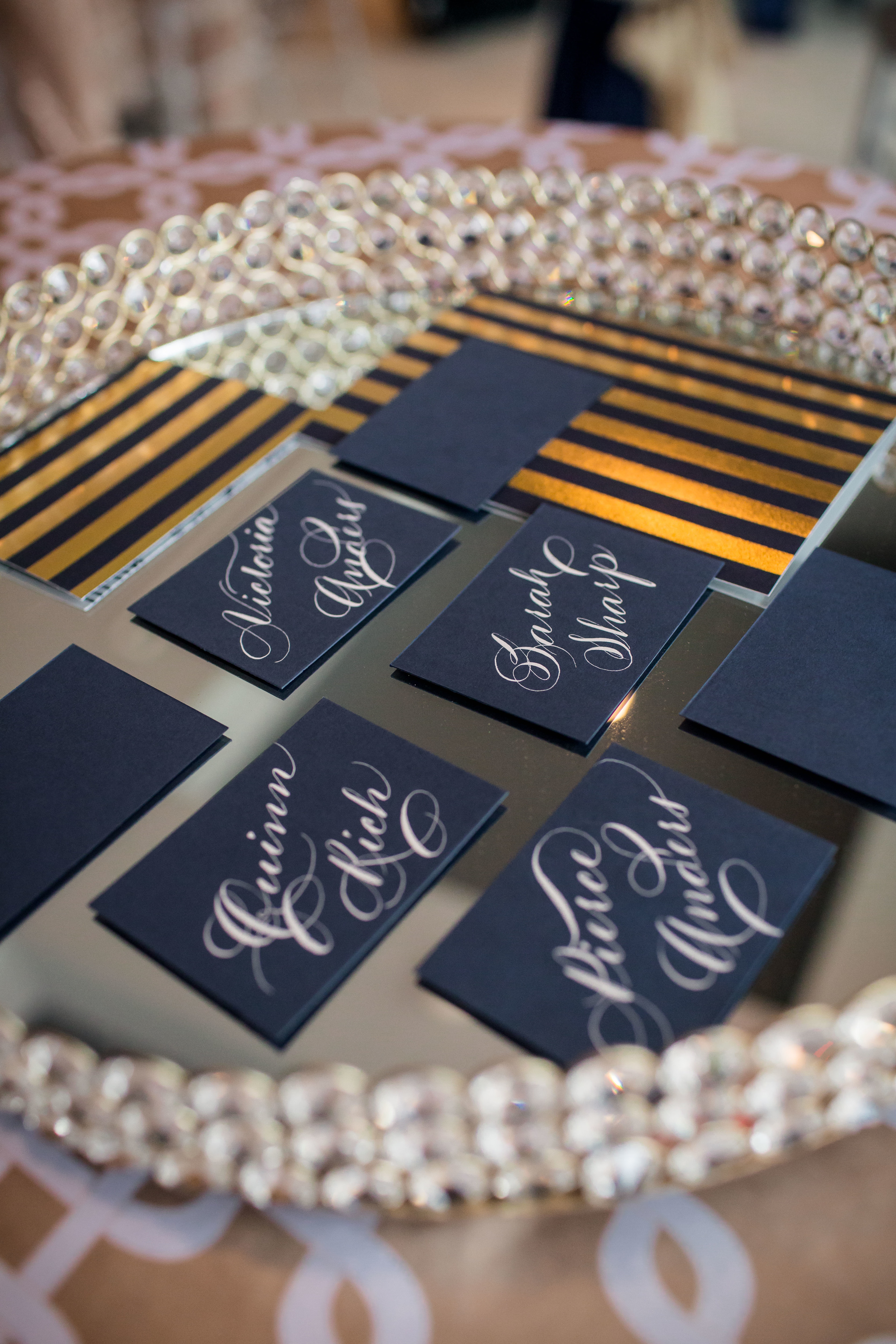 Houston Calligraphy Calligrapher Place card 3 .jpg