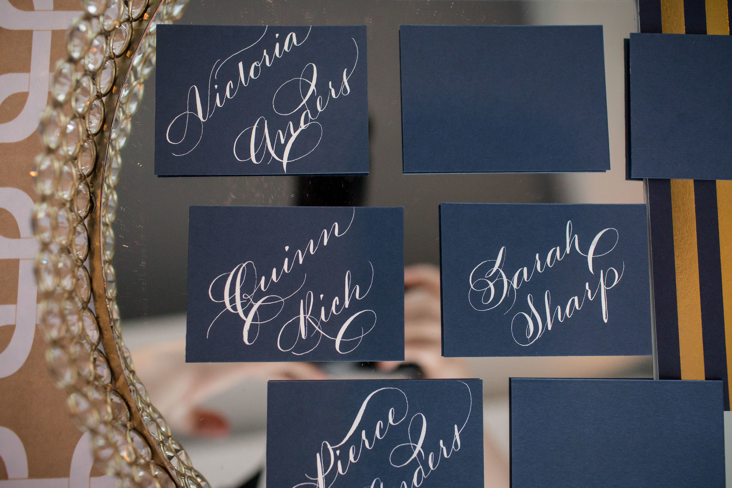 Houston Calligraphy Calligrapher Place card 5 .jpg