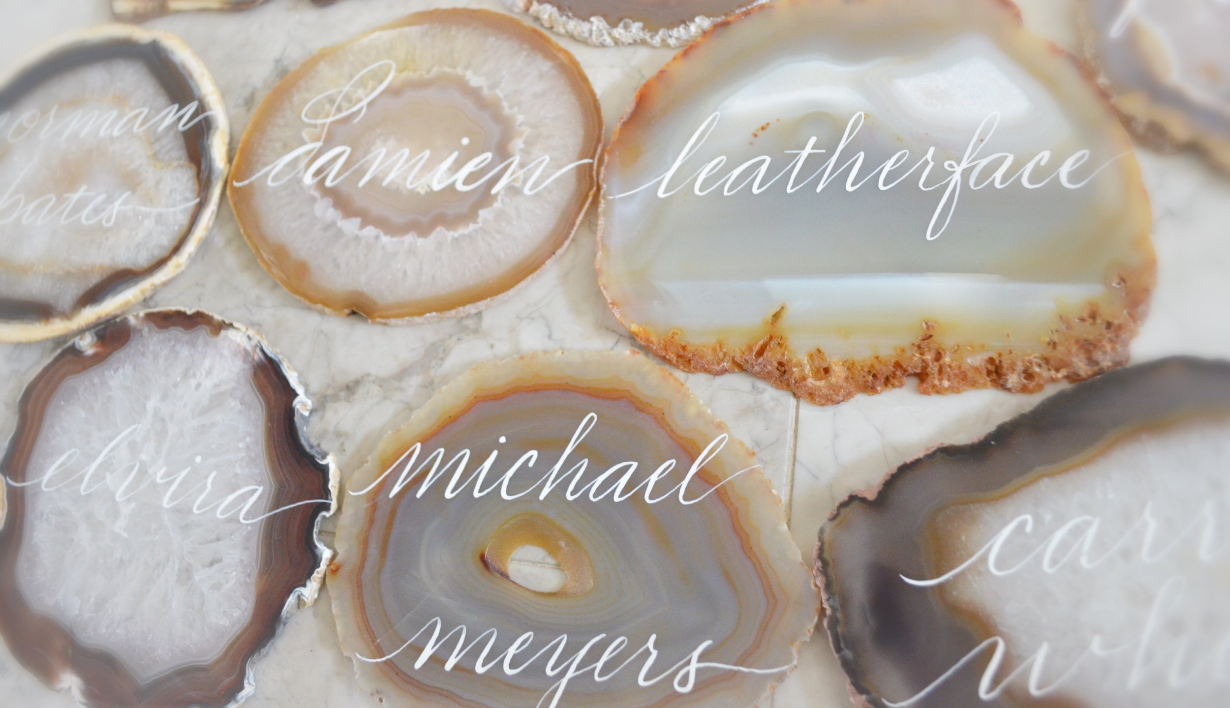 Agate Table Name Number Houston Calligraphy 1.JPG