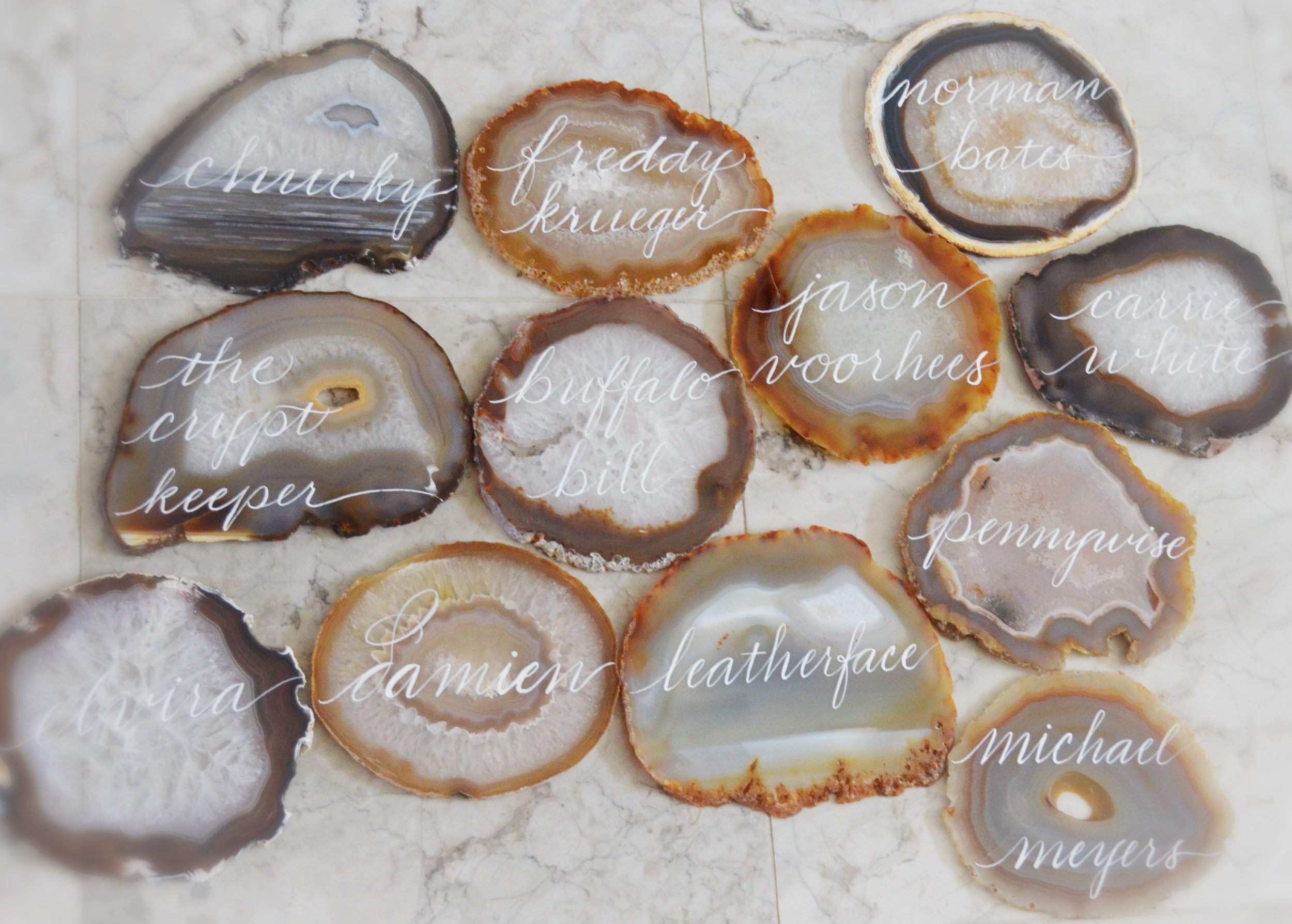 Agate Table Name Number Houston Calligraphy.JPG