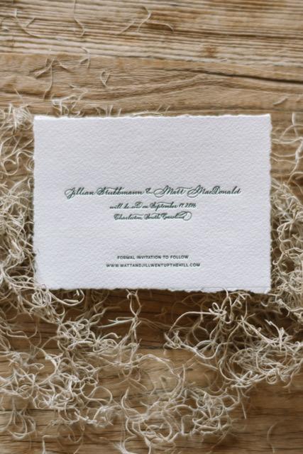 Houston Calligraphy Wedding Handmade Paper 9.JPG