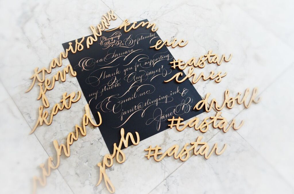 Lasercut modern houston calligraphy 26 Sept 2017 1.jpg