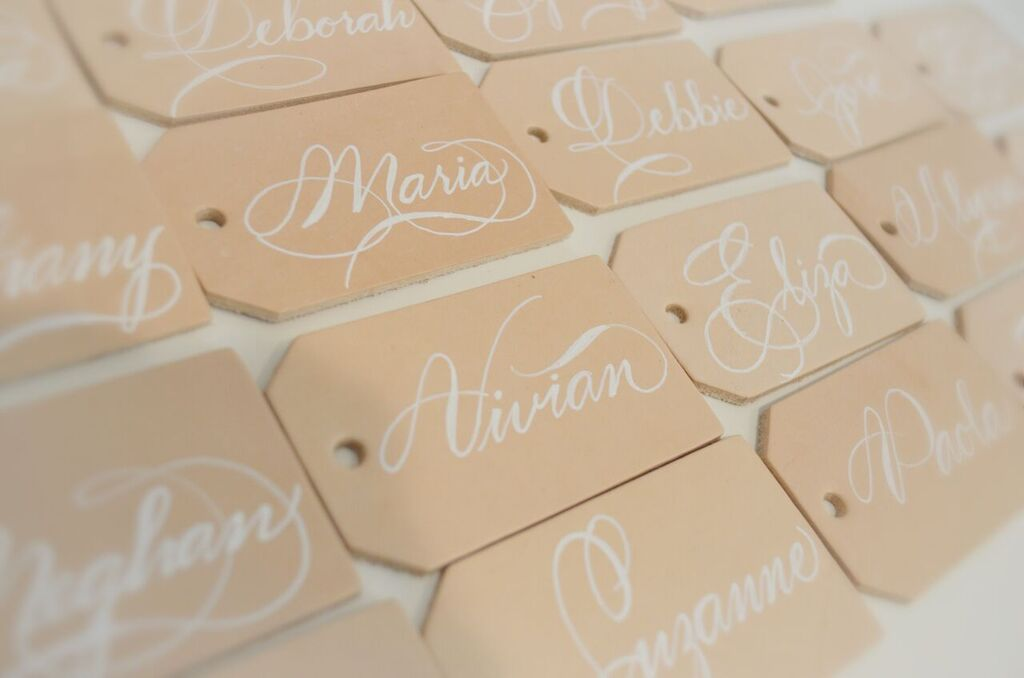 leather luggage tag houston calligraphy place card Nov 2017 3_preview.jpg
