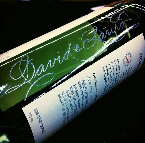 Personalized Wine Bottle - Slinging Ink
