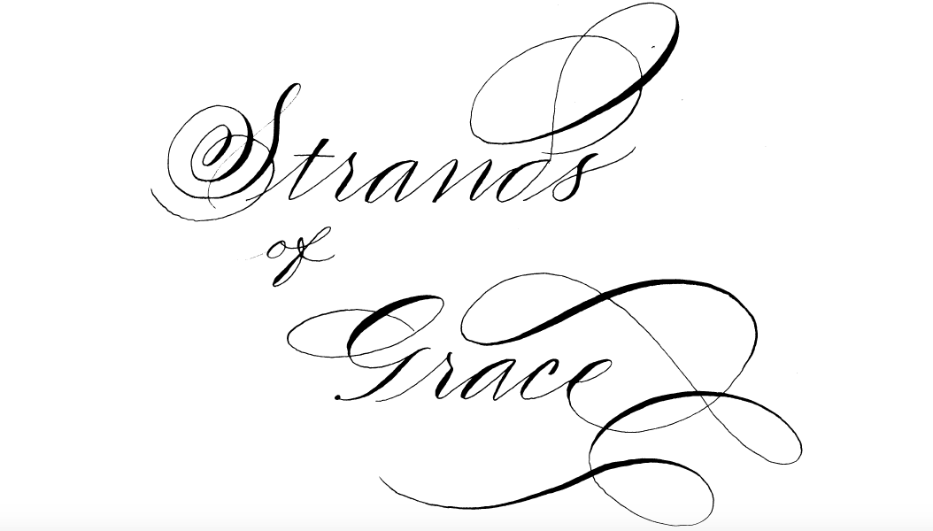 Houston Logo Design Hand Lettering Calligraphy Strands of Grace.png