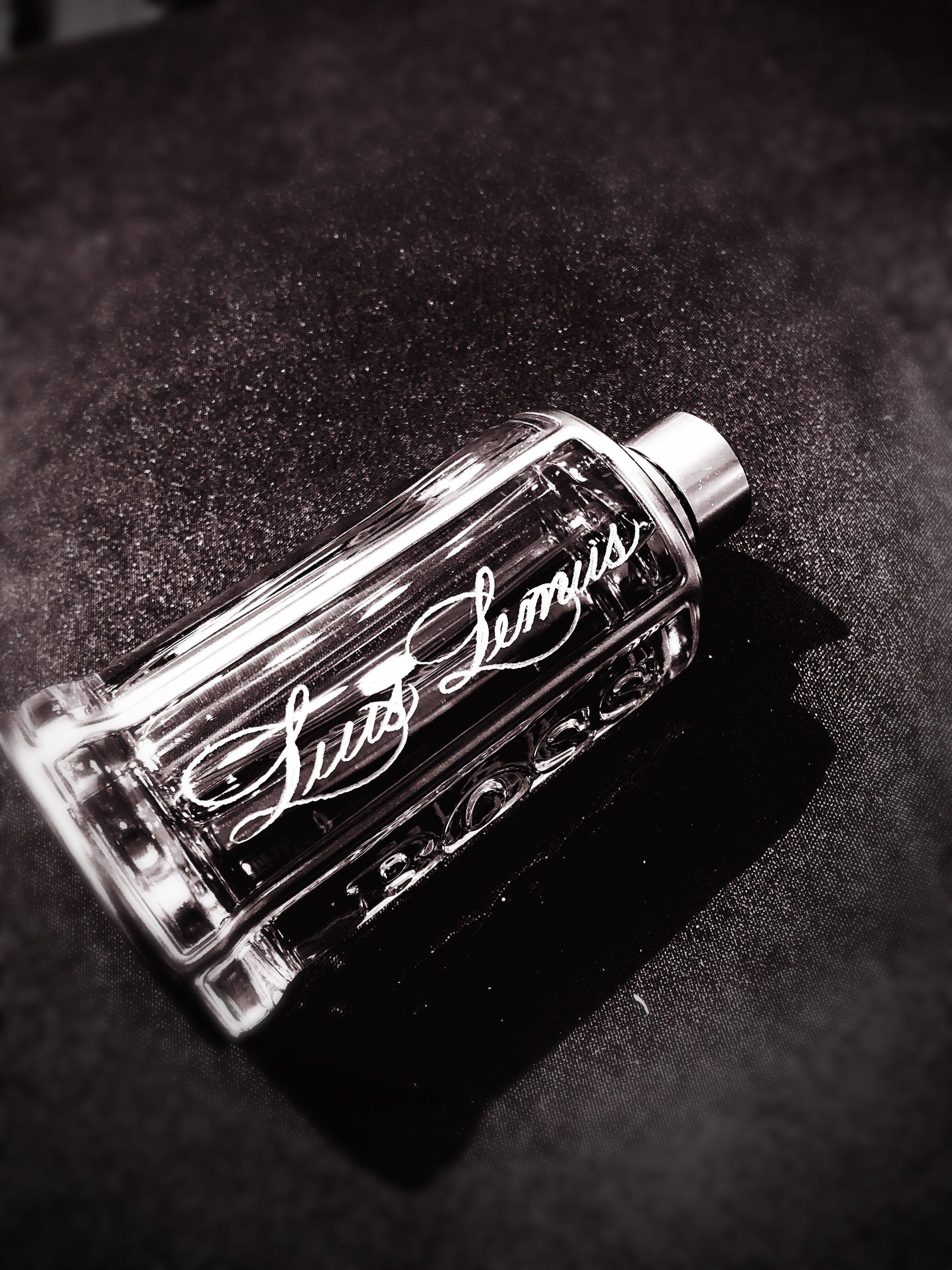 Engraved Fragrance Bottle for Hugo Boss