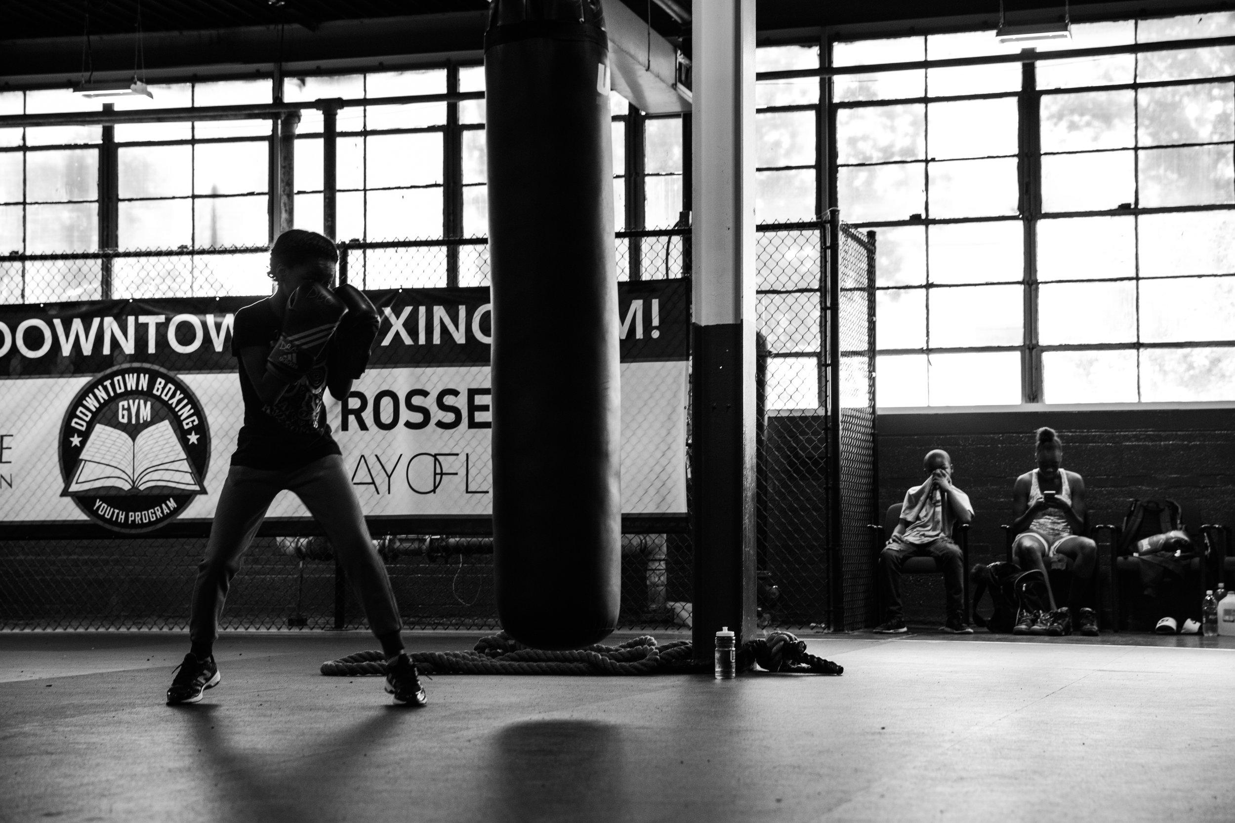 Downtown Boxing Gym Detroit MI