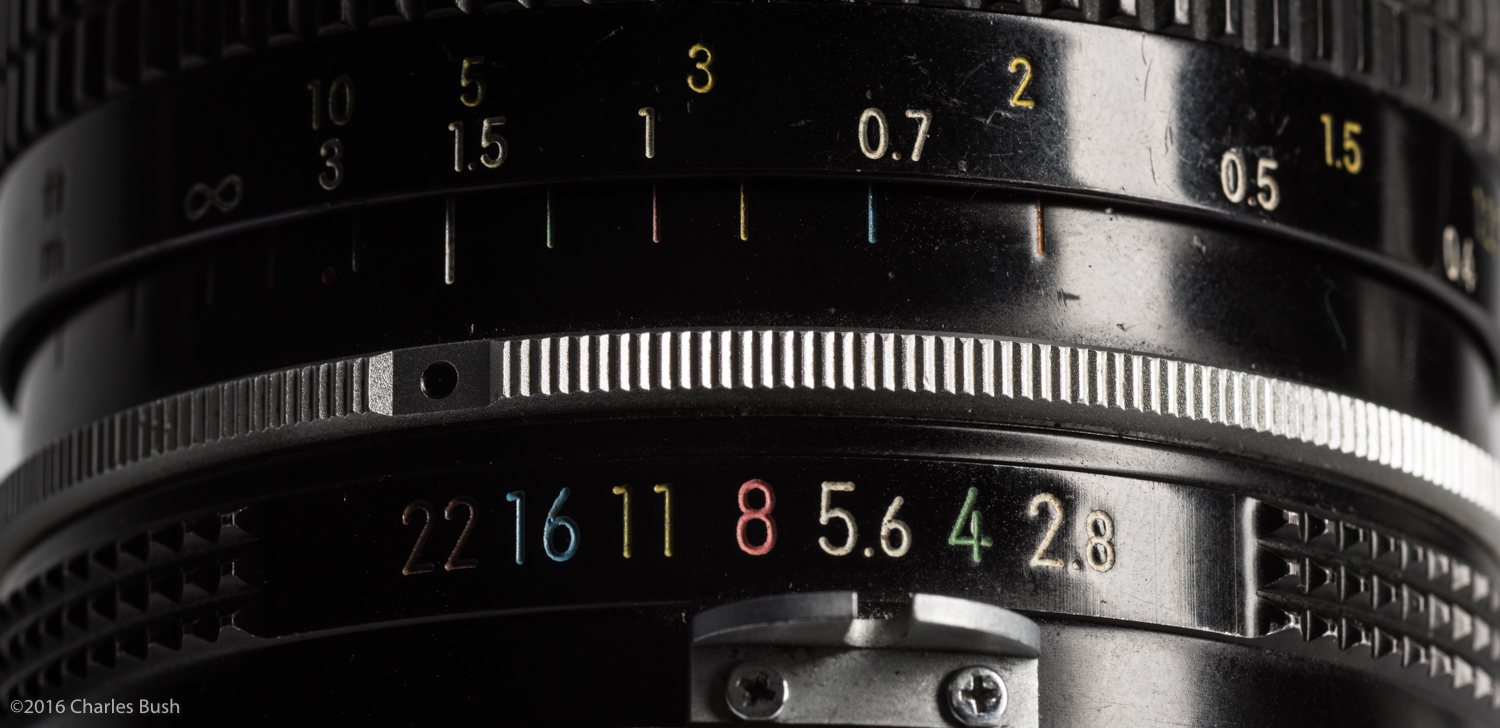 Depth of Field Scale on my 40 year old 24mm lens