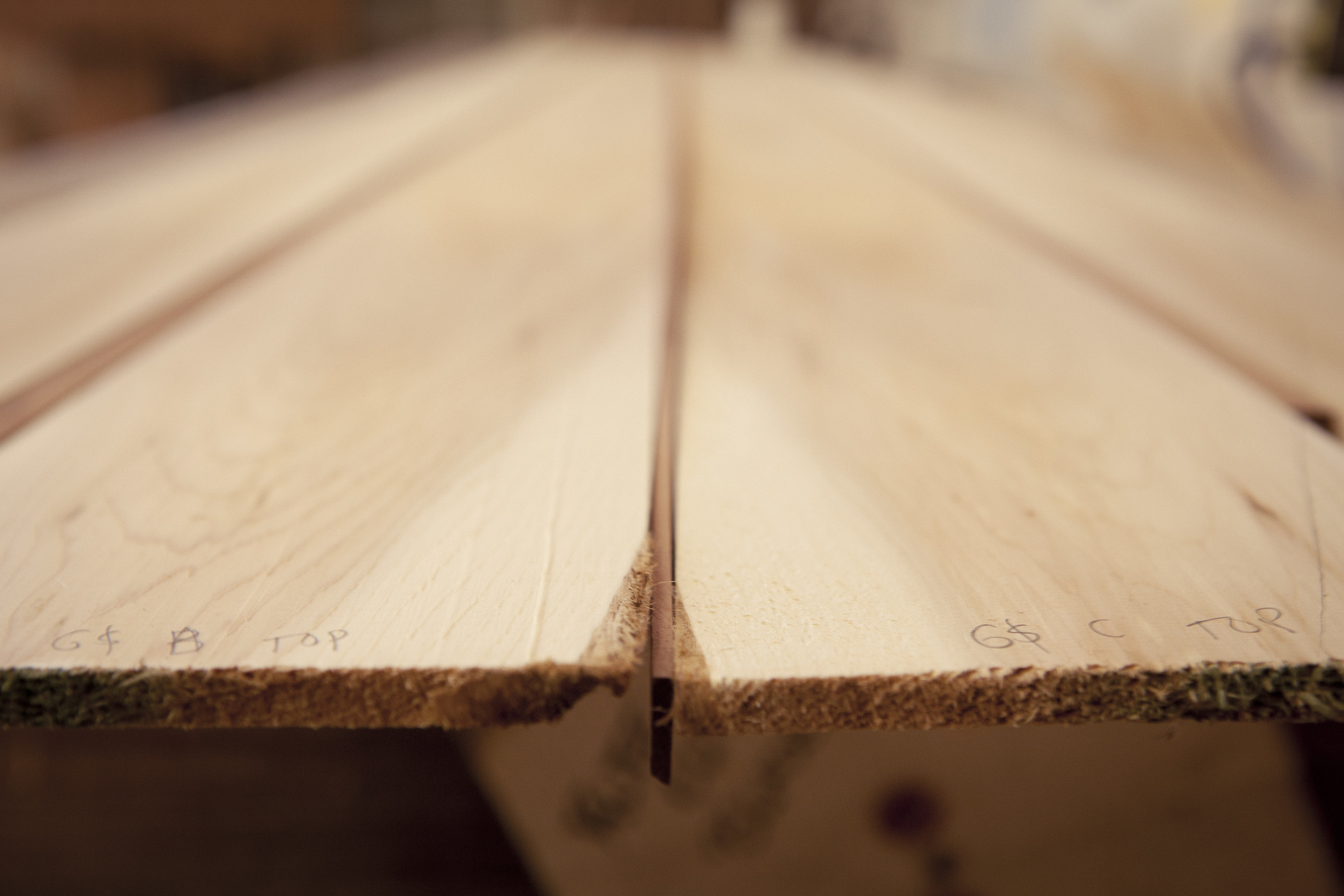choosing the wood for my top plank