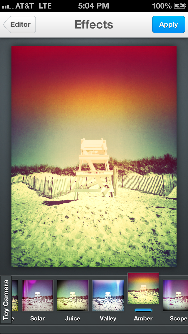 Toy Camera Effects