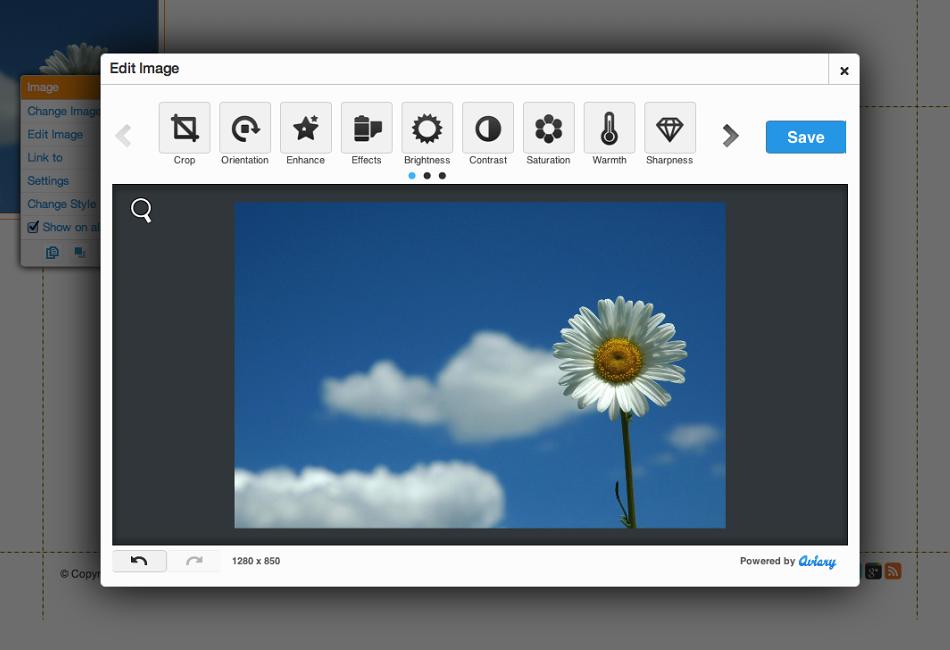 Wix Editor Screen Shot