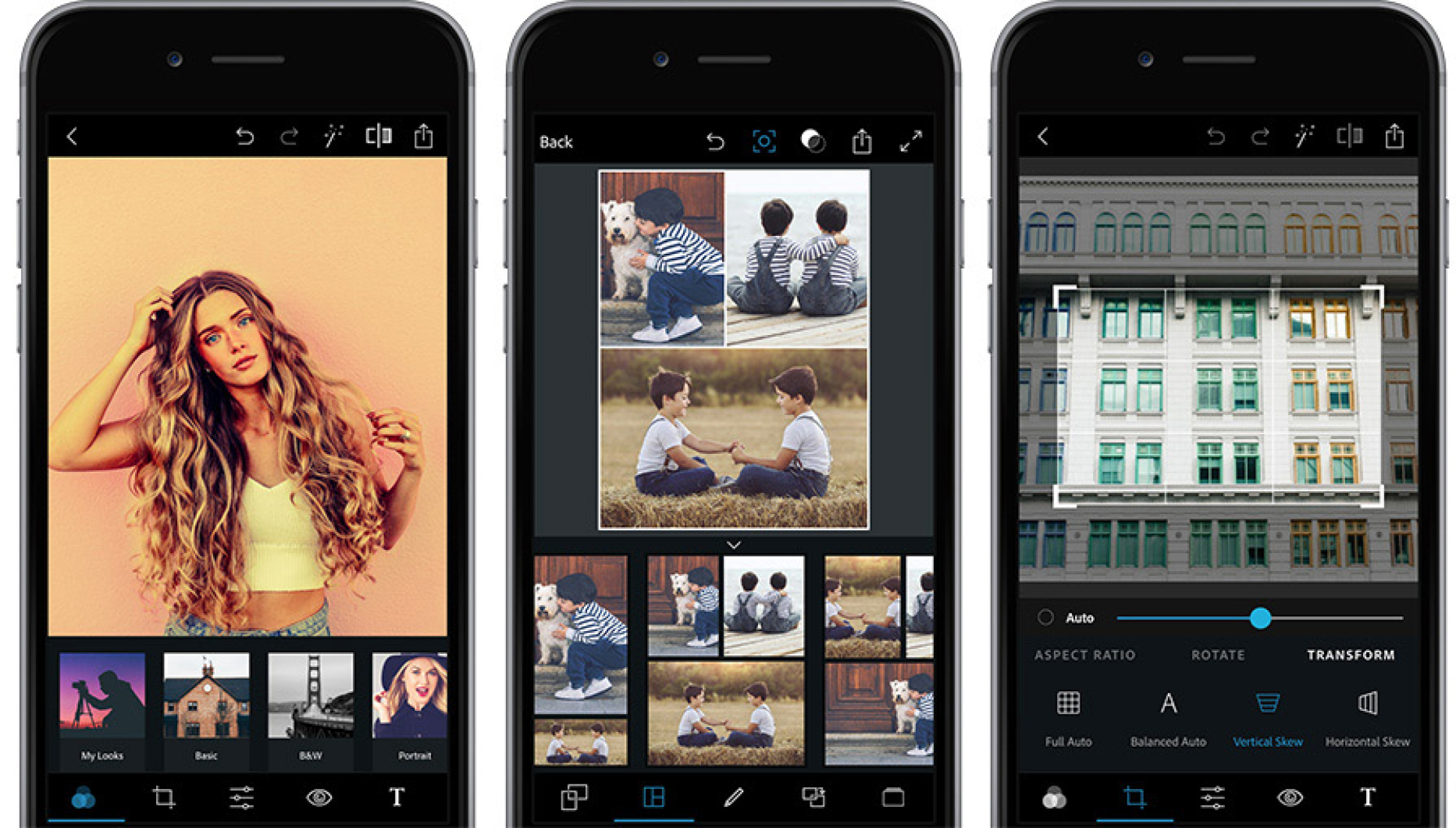 Photoshop Express - For iOS: Available free on the App StoreFor Android: Available free on Google Play