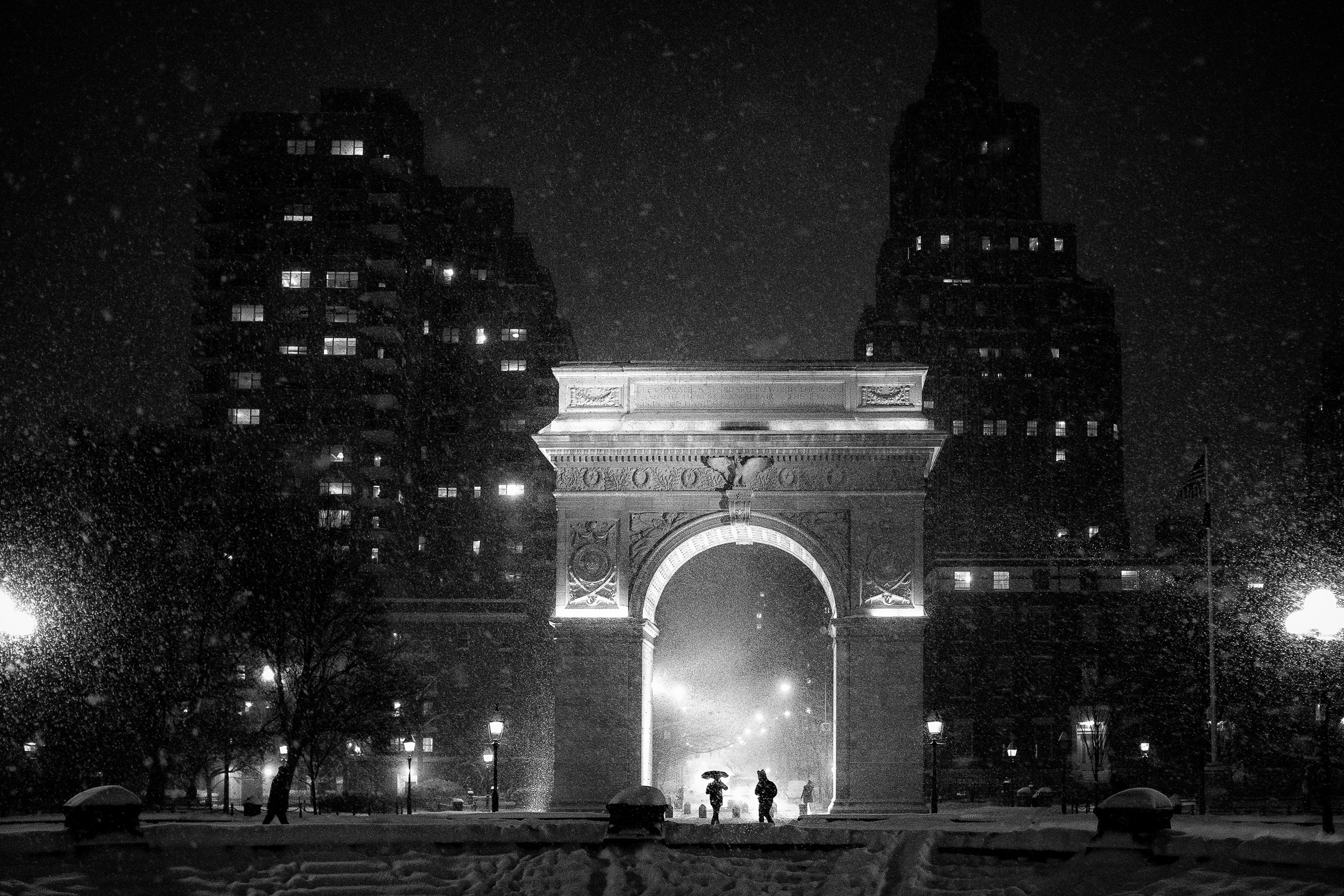 The Arch at Washington Square Park