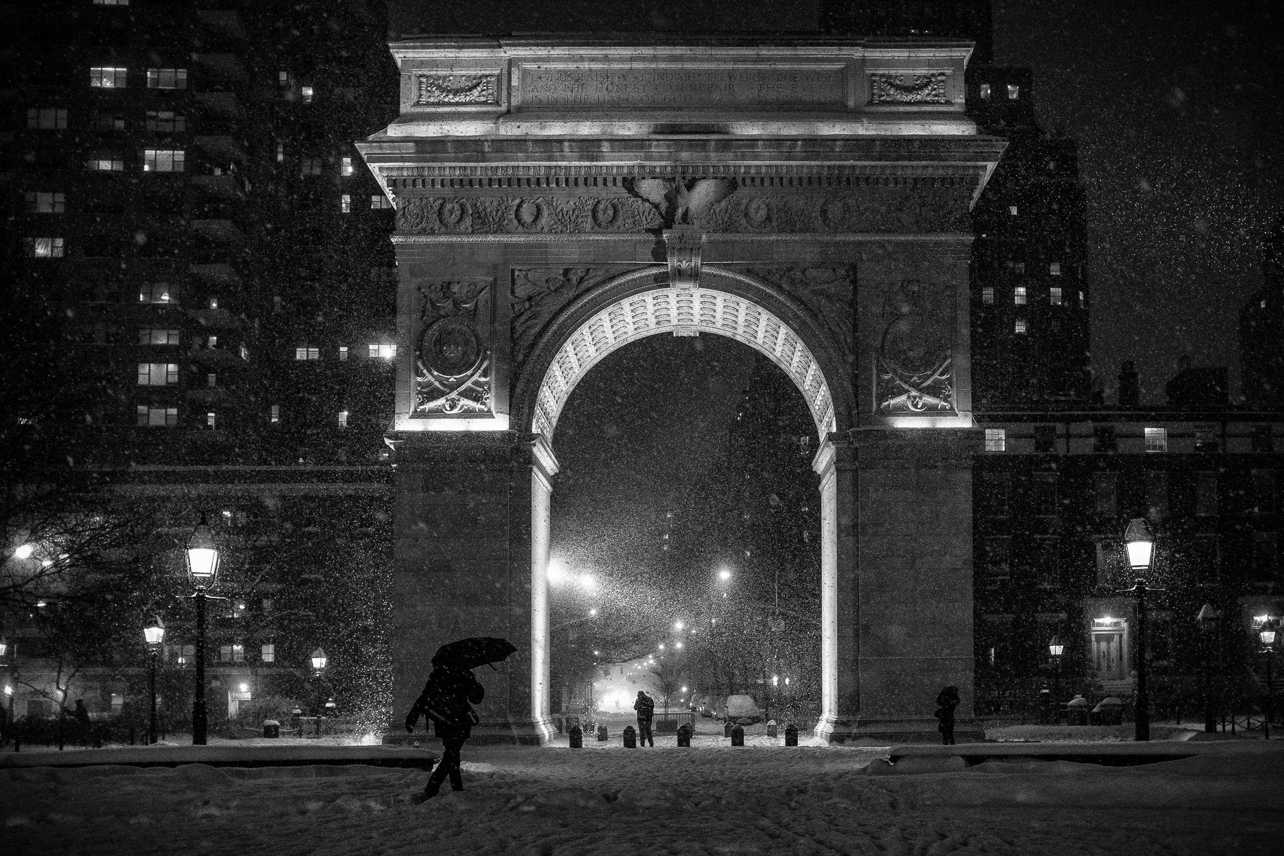 Also the arch at Washington Square Park
