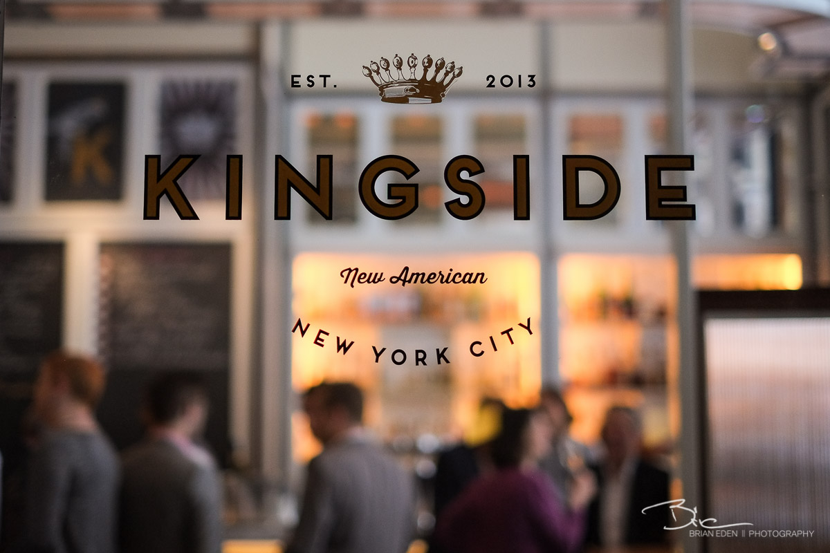 After a few pre-wedding portraits, we headed downstairs to Kingside to meet the guests for Champagne and pastries.