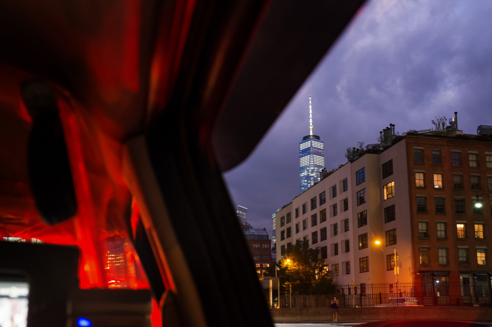 """Scenes from a Taxi"" August 2015, New York, NY Fujifilm X100s, 23mm, f/4, 1/9, ISO 6400"