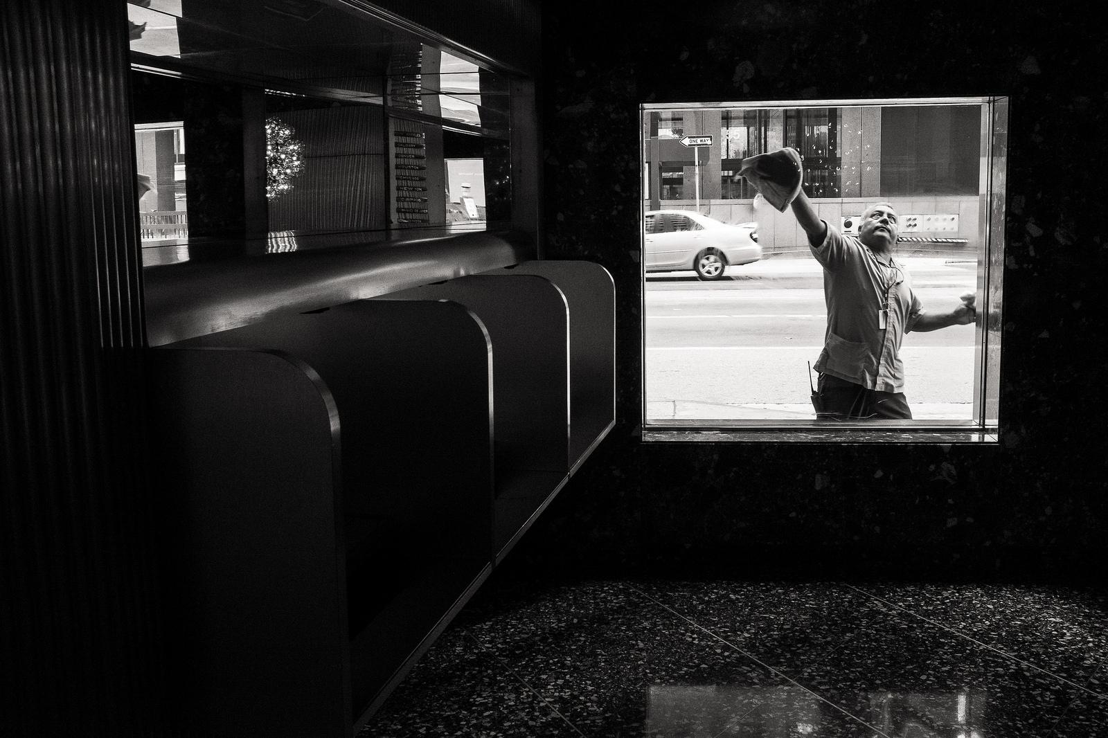 """Buff"" May, 2016. Downtown Los Angeles  Fujifilm X100s, 23mm, f/8, 1/100, ISO 6400"