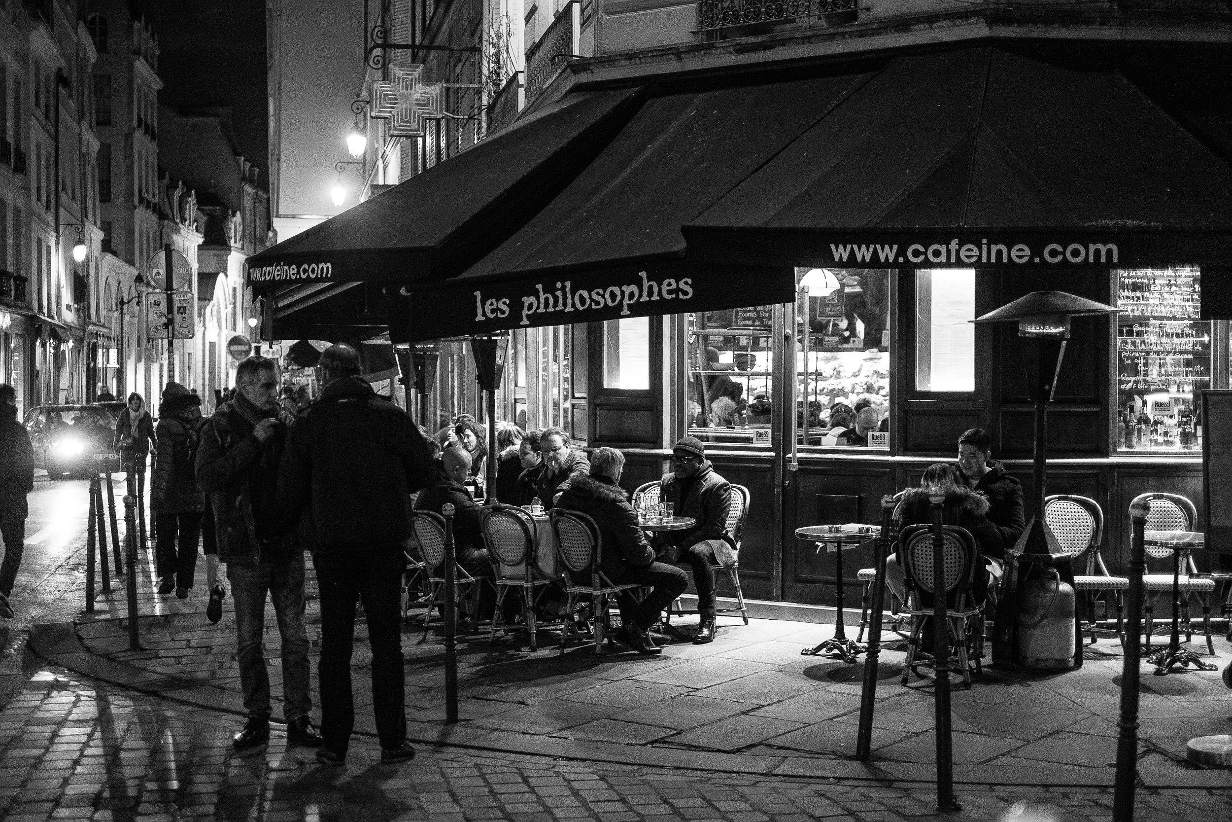 Le Marais, Paris. January, 2017