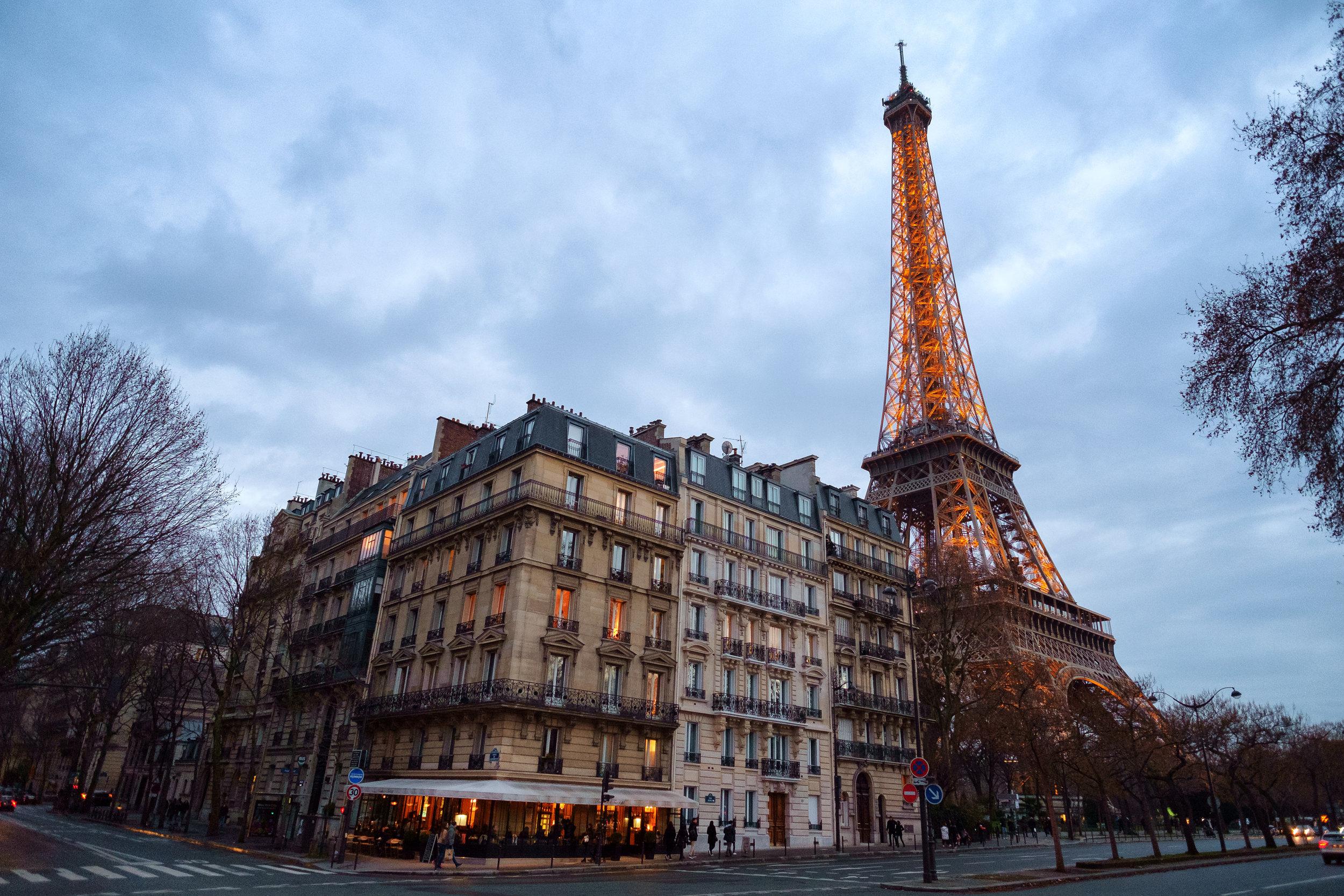 Paris. January, 2017