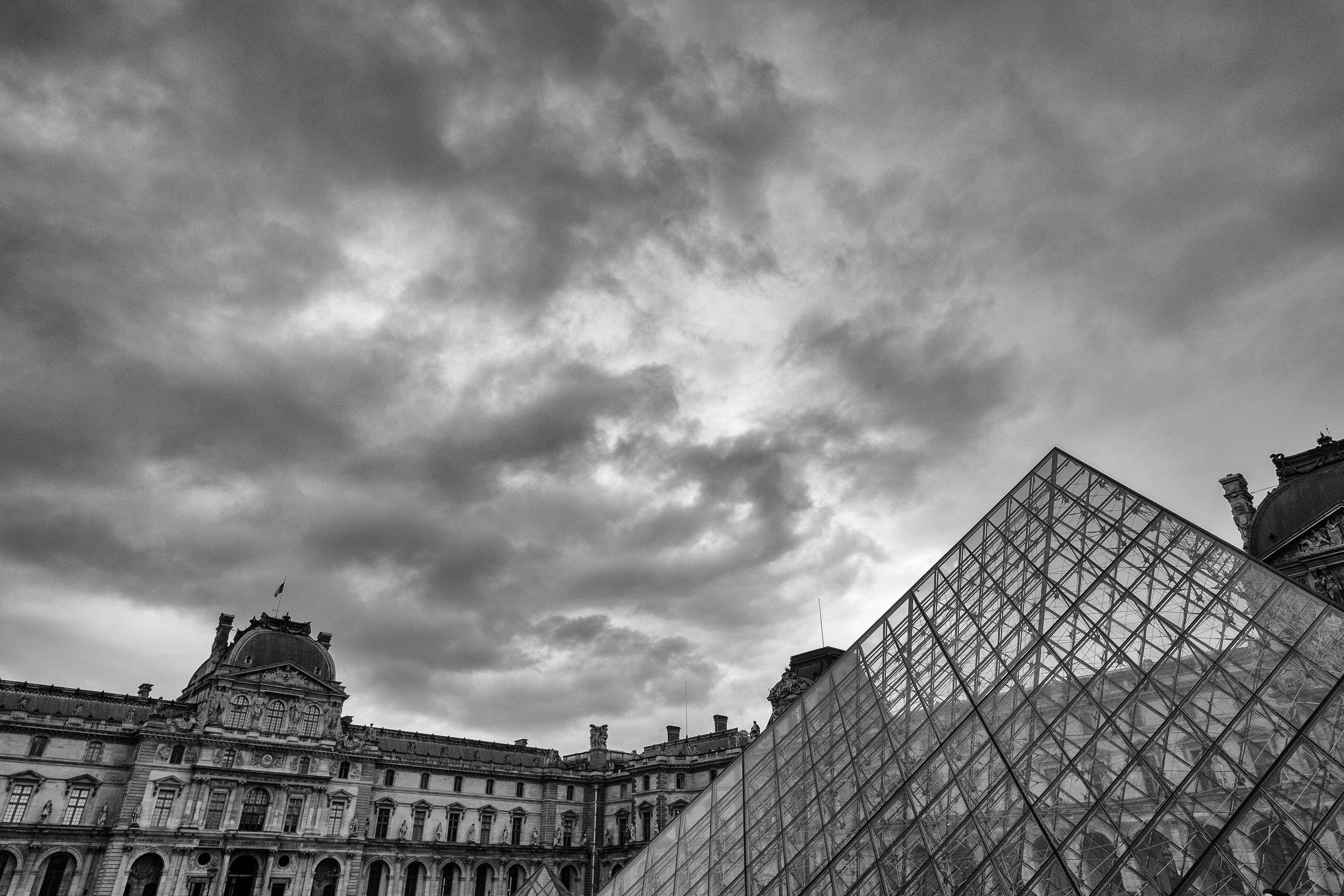The Louvre. Paris. January, 2017