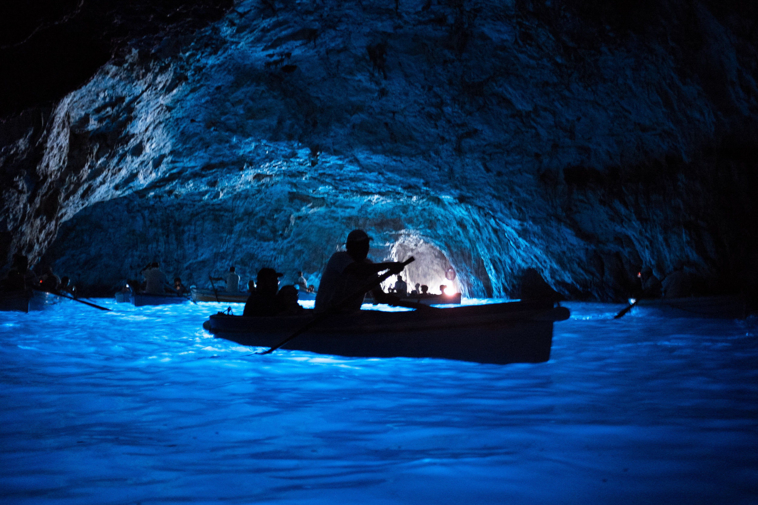 The Blue Grotto, Capri. June, 2013