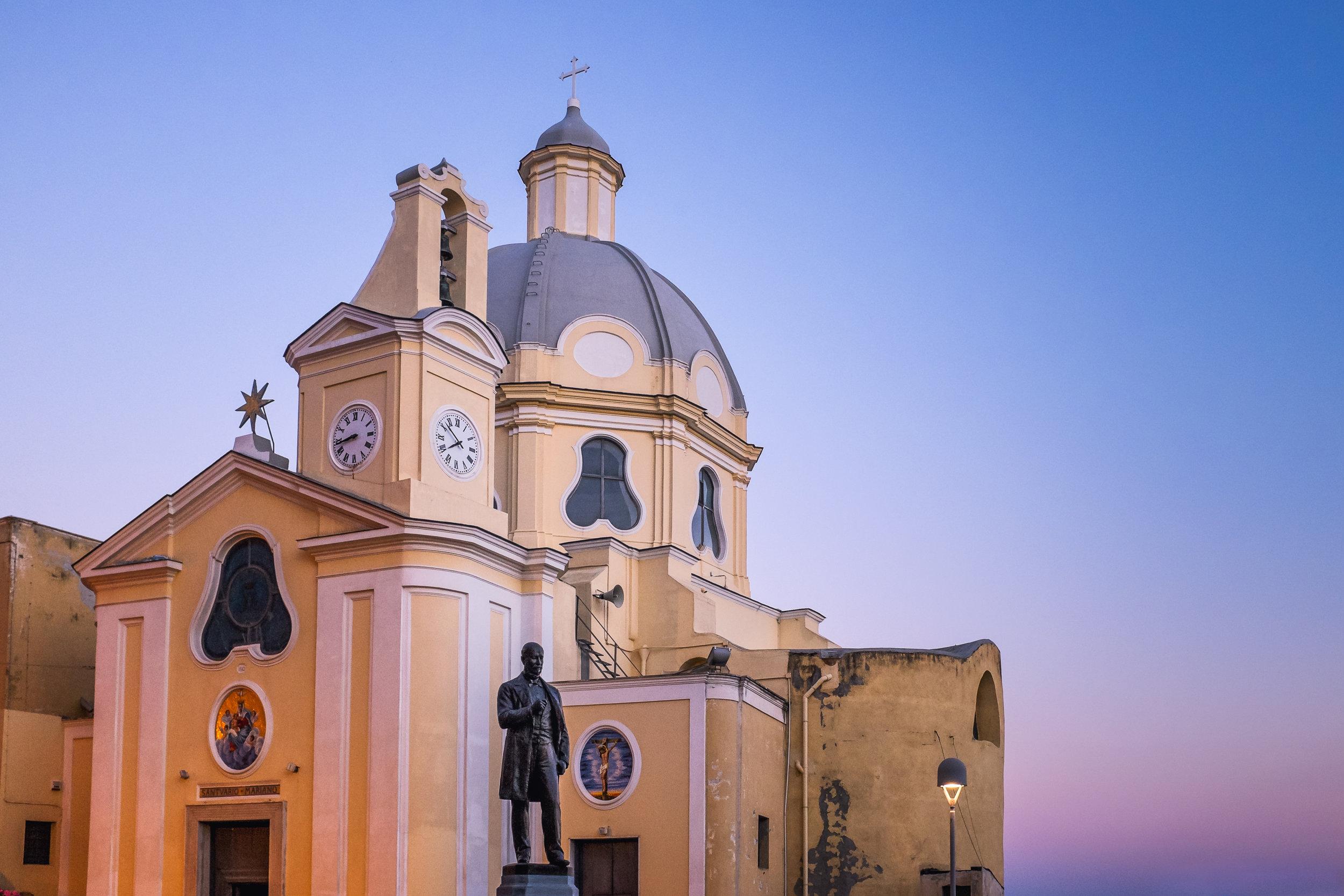 Santuario della Madonna delle Grazie. Corricella, Procida. June, 2013