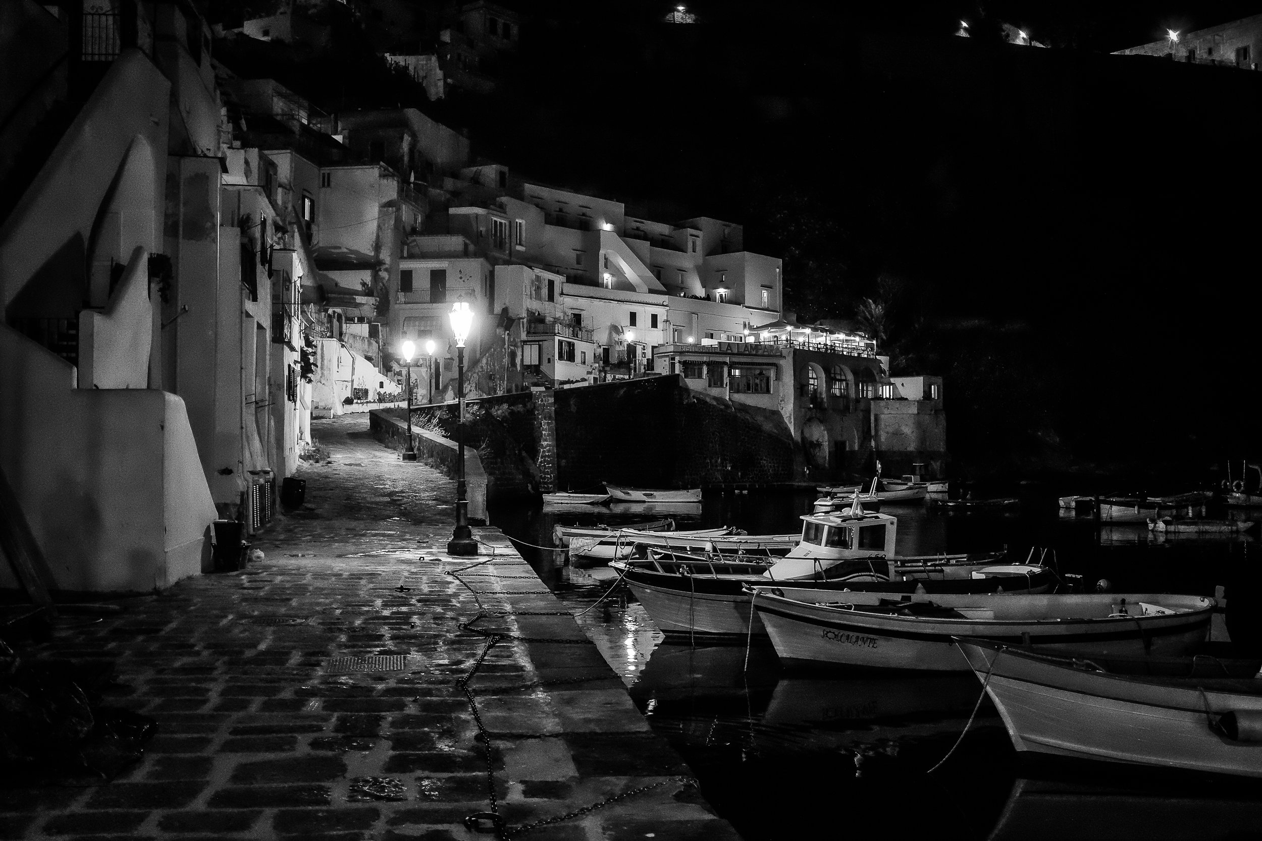 Corricella Harbor, Procida. June, 2013