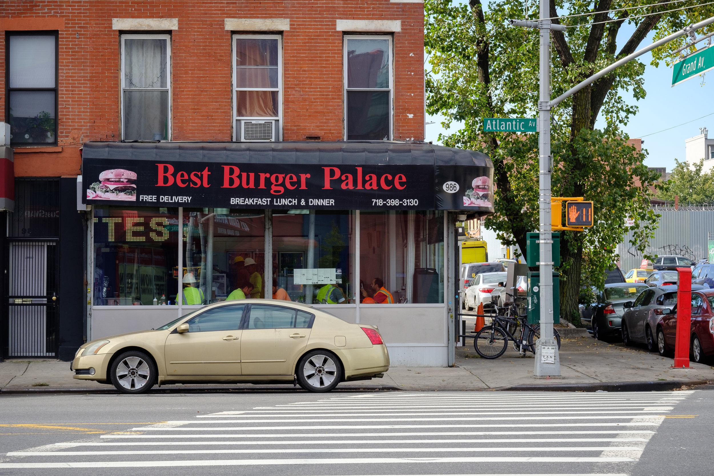 Atlantic Avenue. Prospect Heights, Brooklyn.
