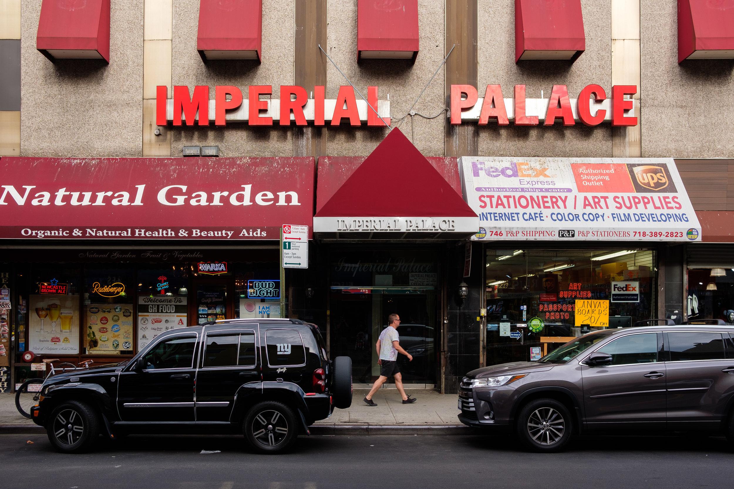 Manhattan Avenue. Greenpoint, Brooklyn.