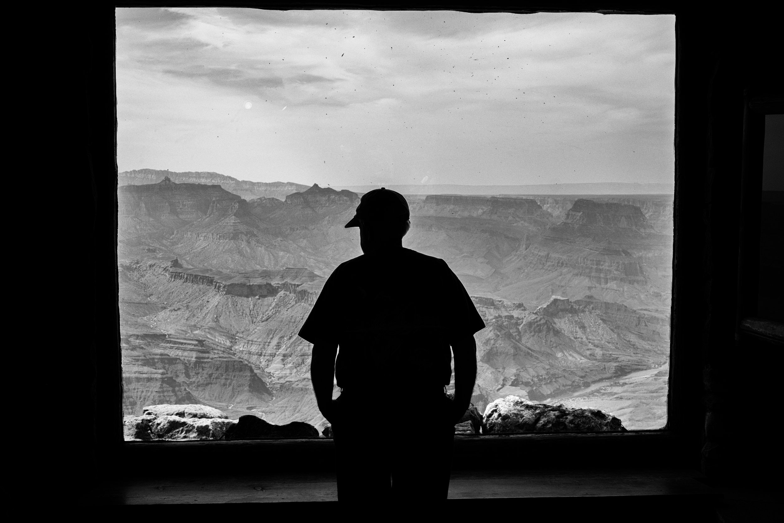 """Room with a view"" June 7, 2017. Desert View Watchtower. Grand Canyon South Rim Fujifilm X-Pro2, 35mm, f/11, 1/120, ISO 400"