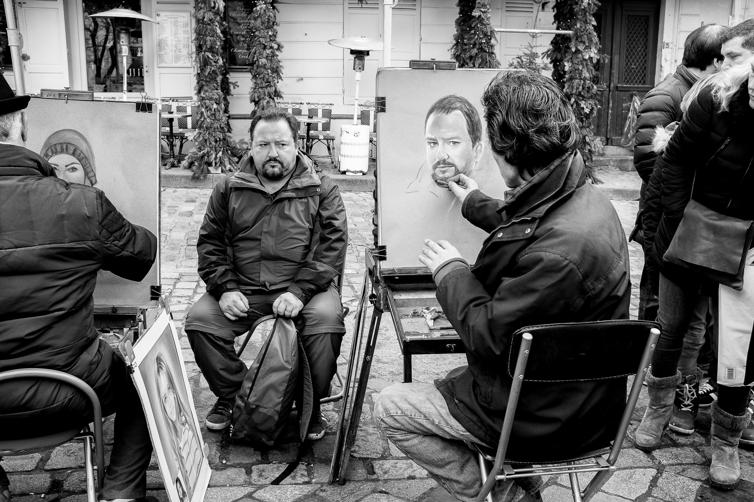 """Artistic license."" January 15, 2017. Montmartre, Paris.   Fujifilm X100s, 23mm, f/5.6, 1/125, ISO 1000."