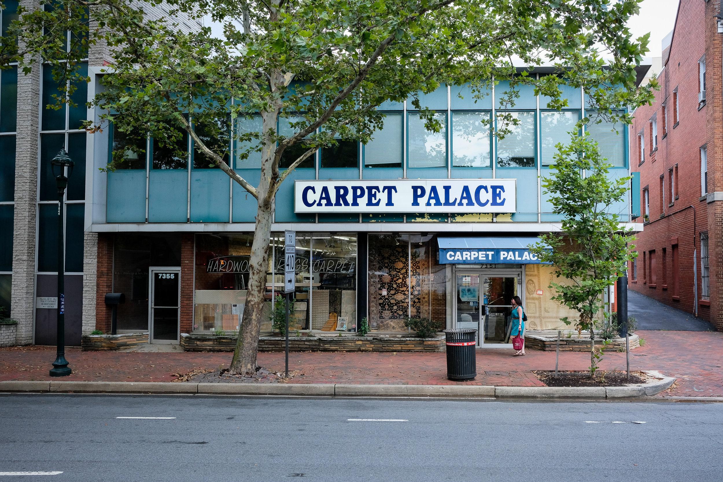 Wisconsin Avenue. Bethesda, Maryland