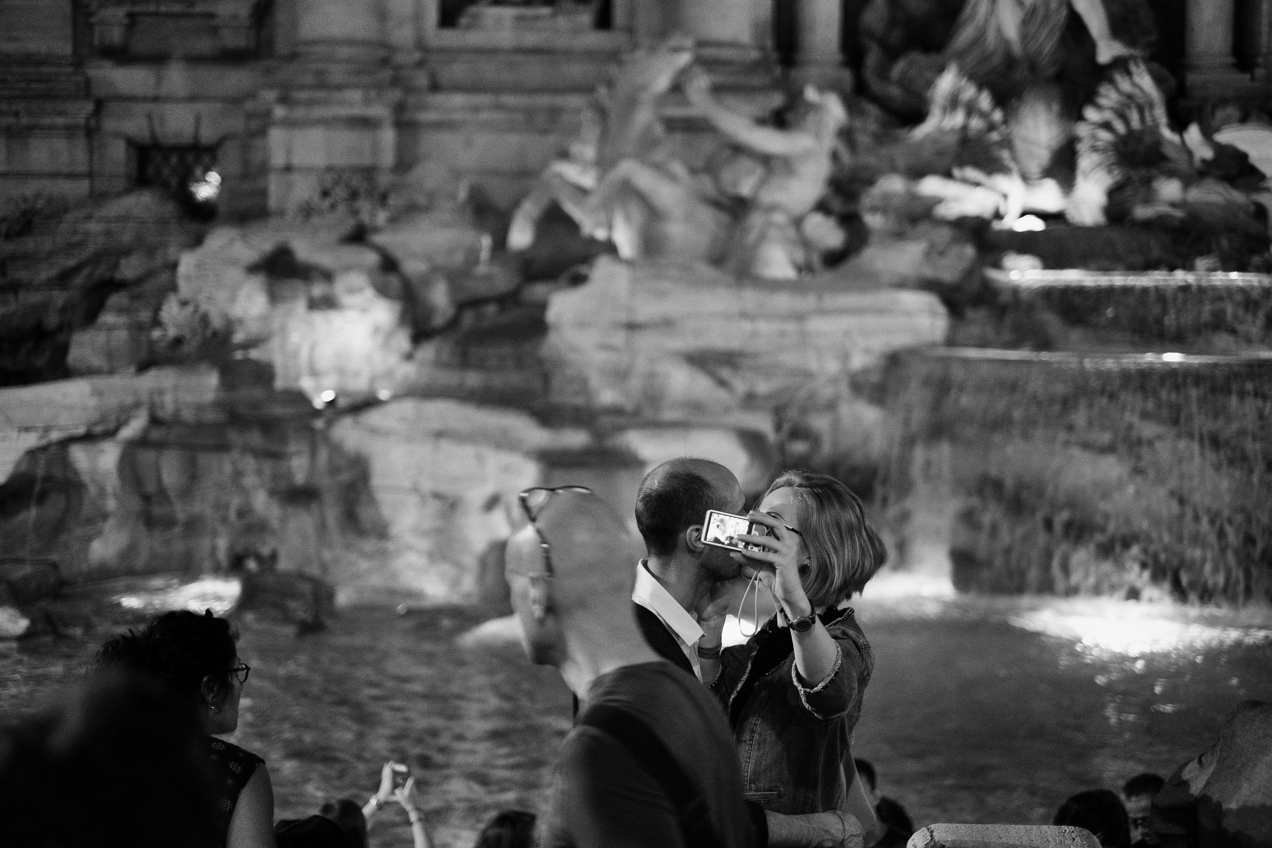 Trevi Fountain. Rome, Italy. 2013