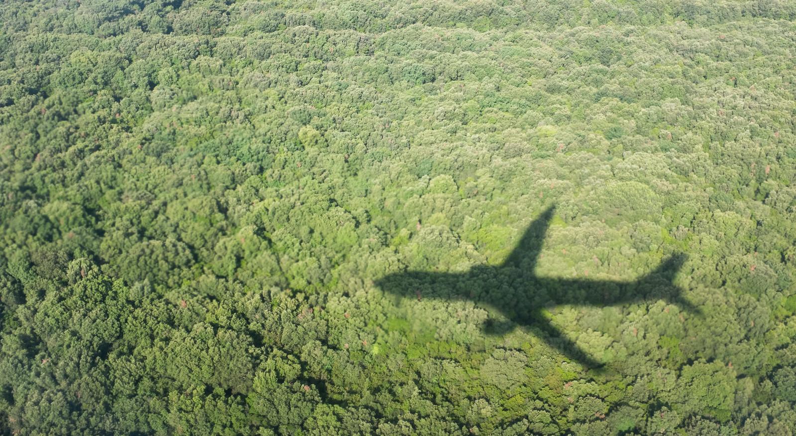 Airplane Shadow