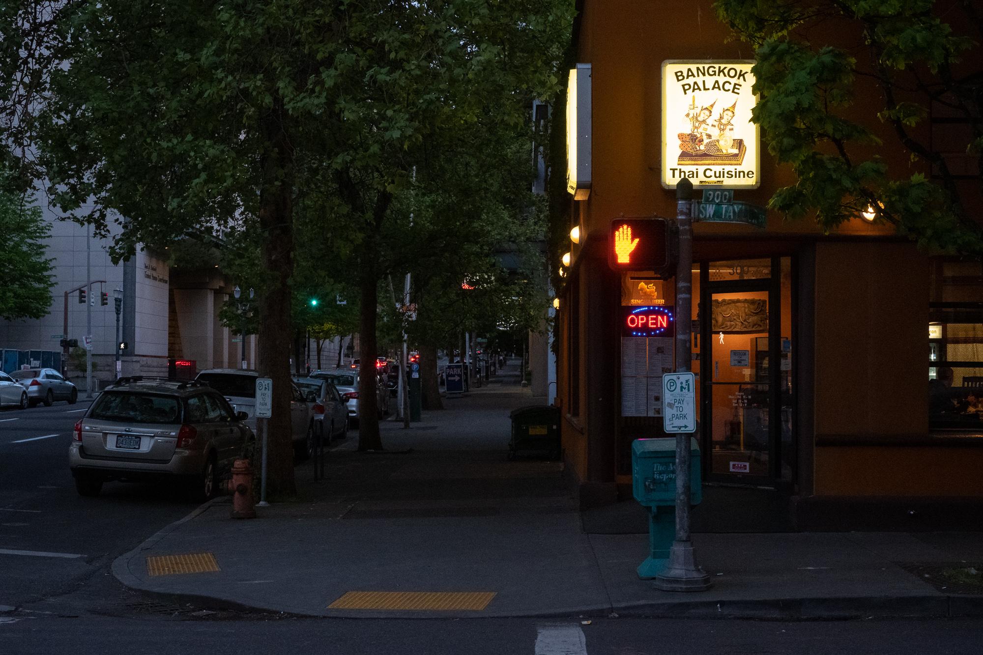 SW Taylor Street. Portland, Oregon