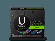 U by Kotex Super