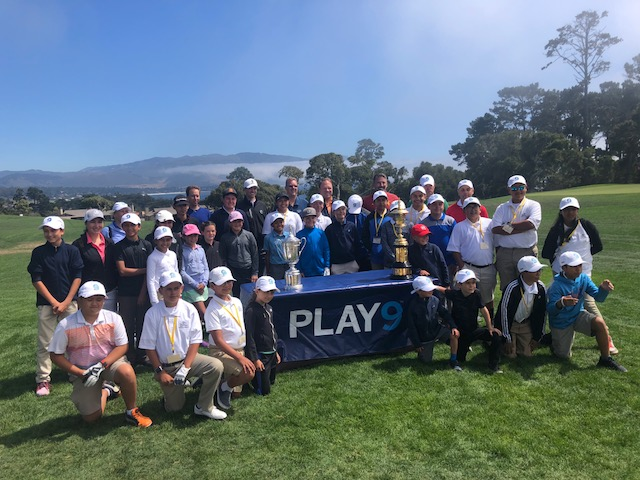 - Since its debut in 2014, the USGA's PLAY9™ program has focused on encouraging more people to play more golf, more often. The program aims to showcase the nine-hole round as an ideal solution for both avid golfers and newcomers alike to get out and play in a time-friendly and engaging way. AT&T Pebble Beach Junior Golfers were fortunate to participate in the PLAY9 event at Peter Hay Golf Course on Sunday, August 5th.