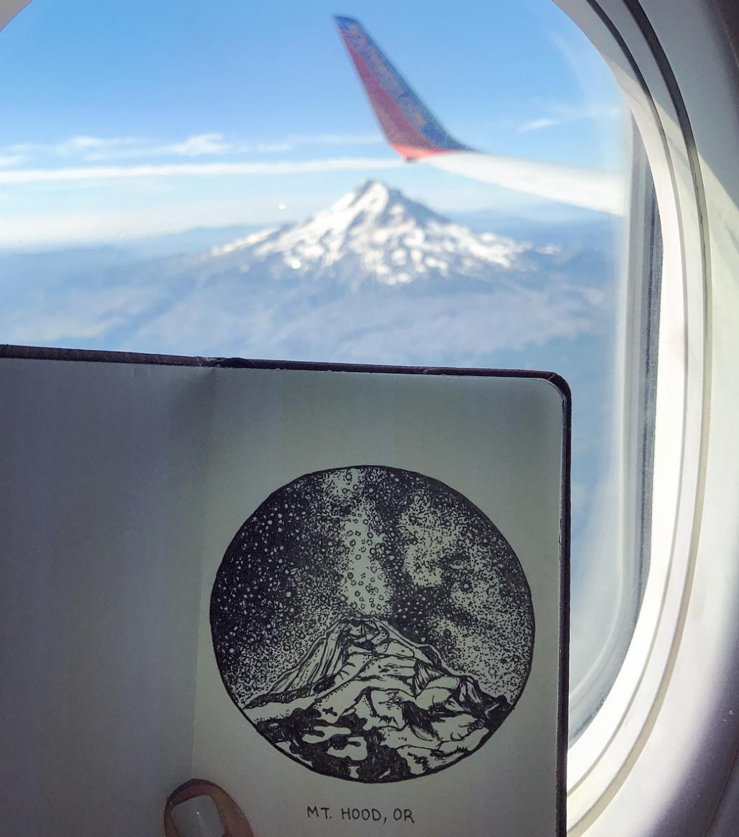 Mt Hood Illustration from the sky.png