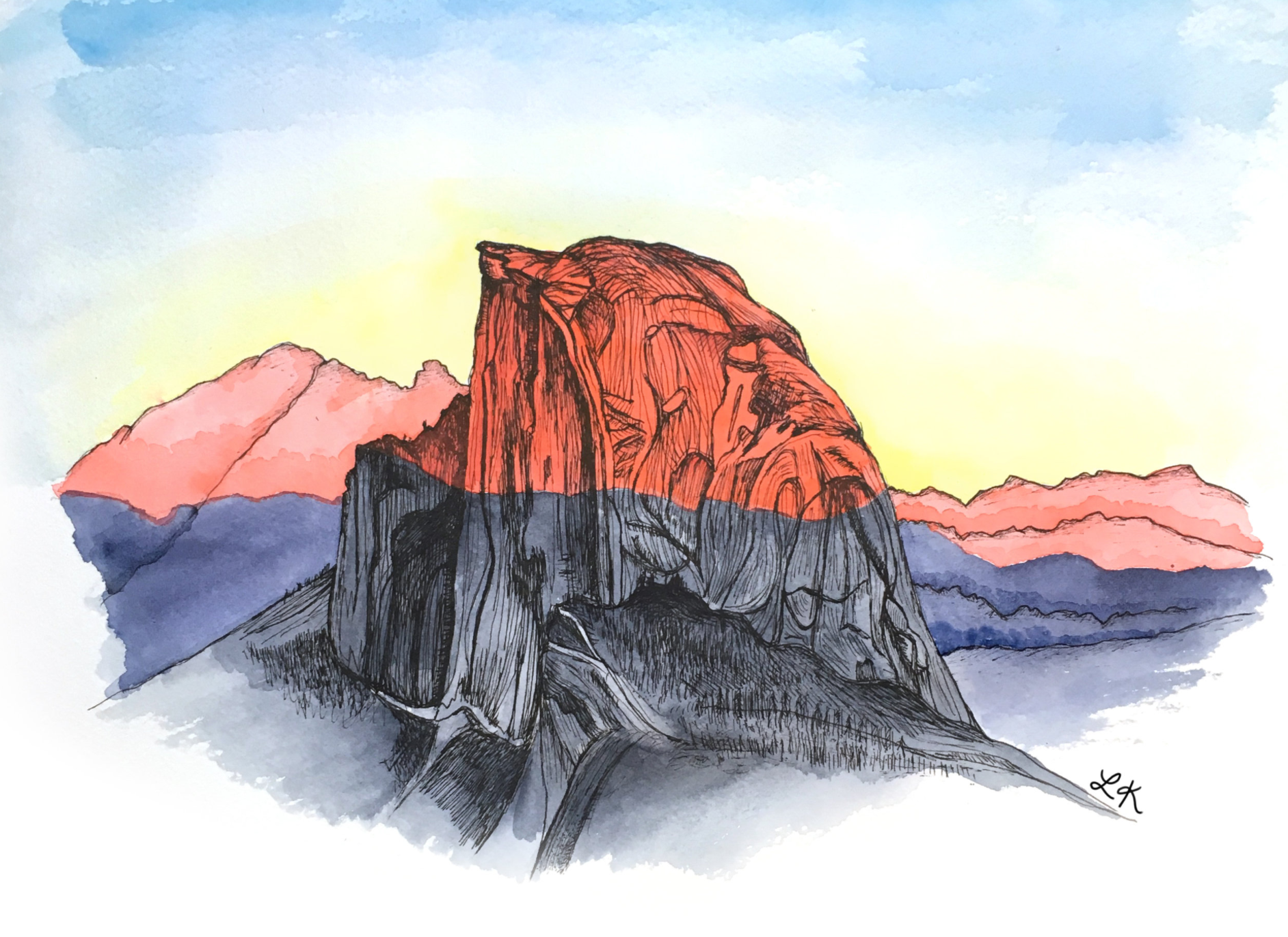 Half Dome at sunset.png