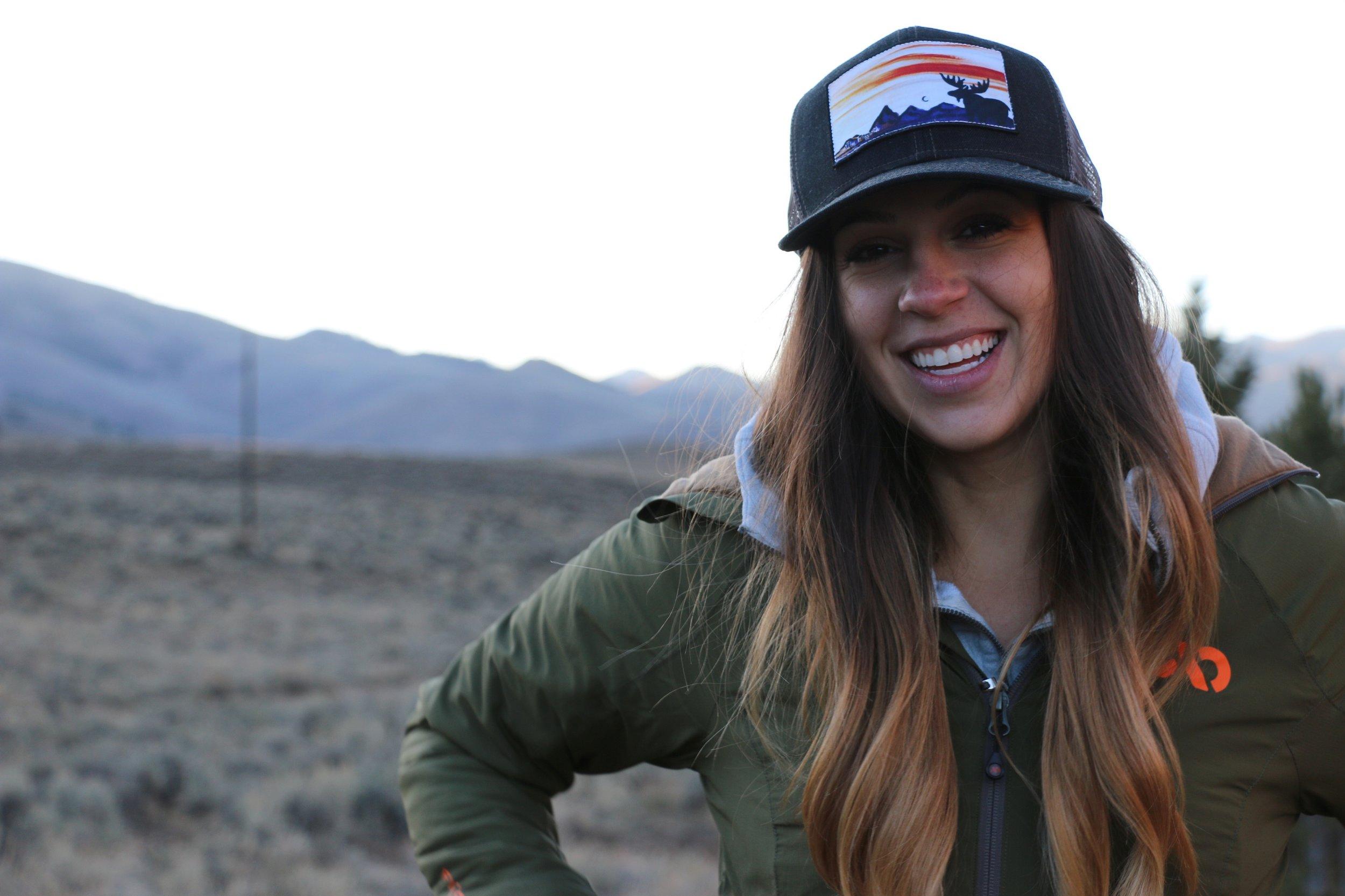 Allie D'Andrea Smiling Hunting