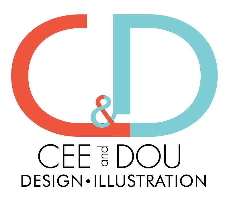 Cee and Dou Designs and Illustration png