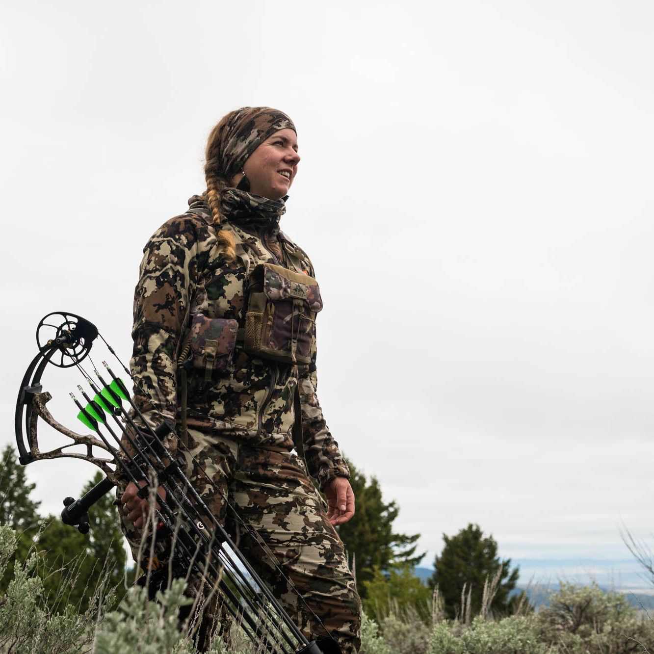 Jess Johnson - A hunter, adventurer, former ballerina, mule deer fanatic, conservationist…an advocate. Jess Johnson lives in Lander, Wyoming at the base of the wild Wind River Mountains. Her childhood instilled in her a wanderlust for wide expanses of public land and a deep appreciation for the wildlife that inhabit it. Since moving back to Wyoming, she spends her free time archery hunting and exploring the mountains and rolling sage brush slopes. Jess works for the Wyoming Wildlife Federation, is a founder of Artemis Sportswoman, and is a Wyoming chapter board member for the Backcountry Hunters and Anglers. She is changing the narrative around the stereotype of hunters and works to create platforms for women's voices within the hunting conservation world.