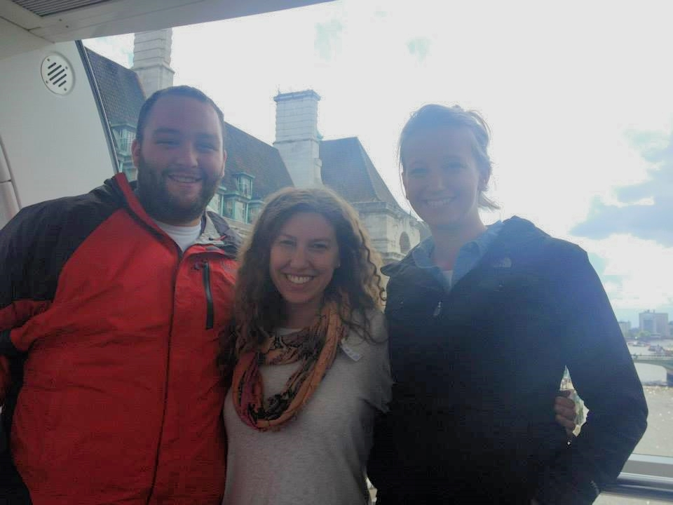 Ben Cecil (far left) - 2nd year Master's Student Graduate Assistant in the Center for Global Engagement