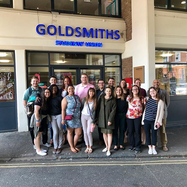 Second campus stop in London for this group! Thank you to all of the students and staff who made for a wonderful day 3! #FSUHESAPracticum18