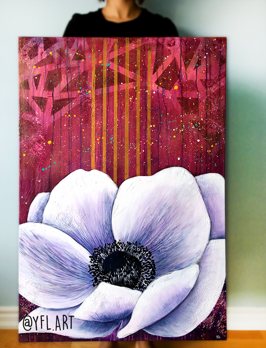 Anemone 2ftx3ft