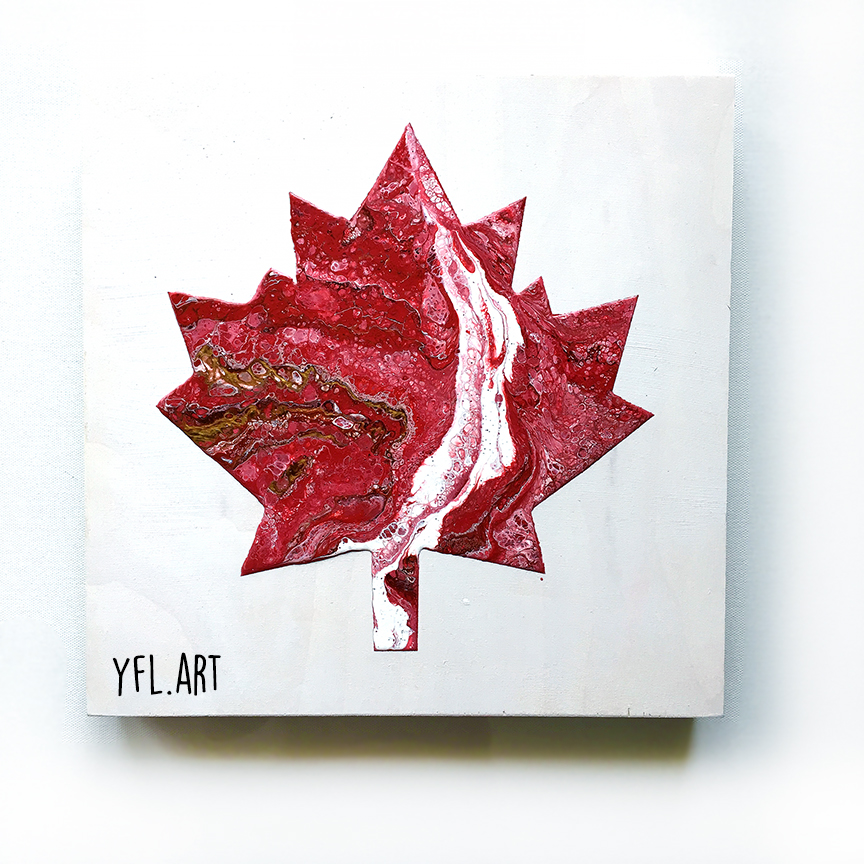 Canada 150-SOLD-12x12inch