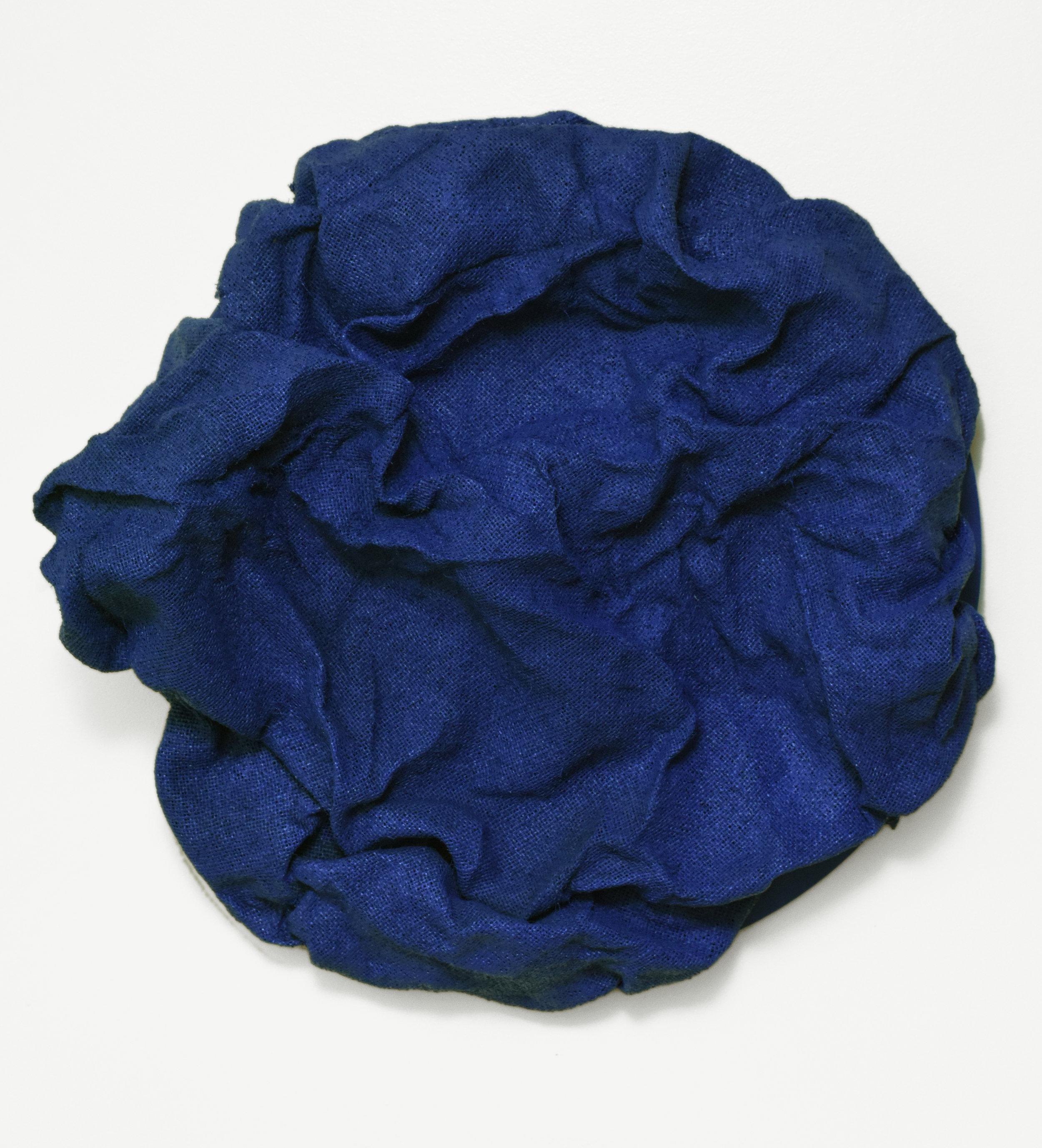 Iris Blue Folds