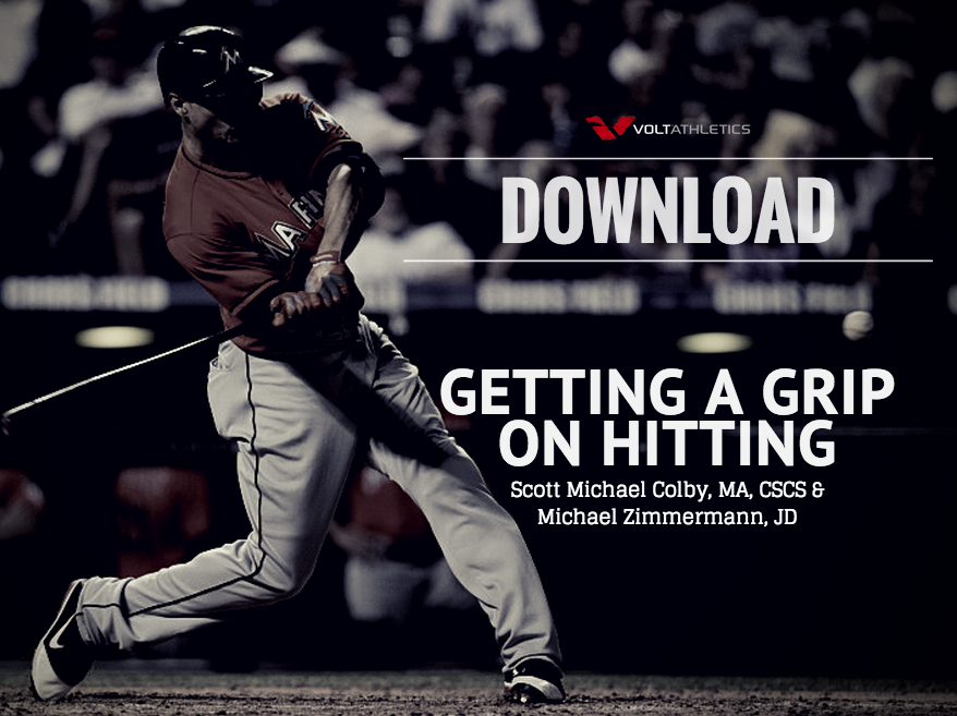 Click to Download 'Getting a Grip on Hitting' by Scott Michael Colby and Michael Zimmermann.